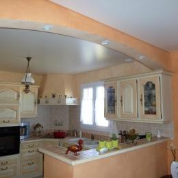 cuisine plafond sans soudure