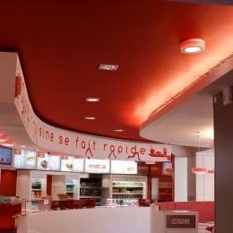 plafond restaurant Ouest Express LYON