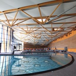 plafond acoustique piscine MIRIBEL