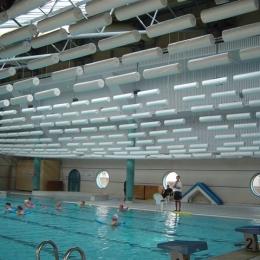 plafond acoustique piscine VOIRON