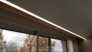 plafond tendu blanc mat avec ruban led (2)